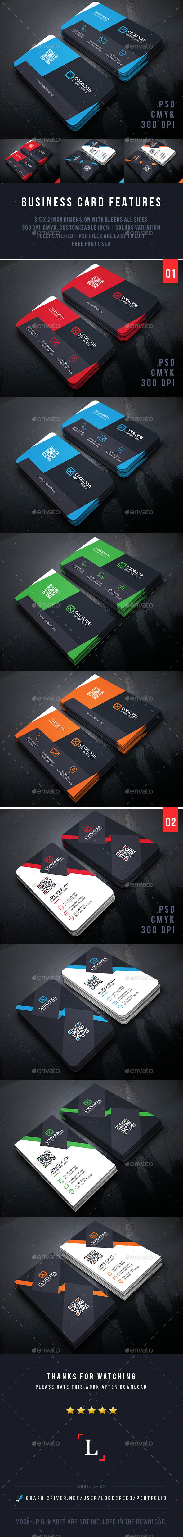 Creative Business Cards Bundle - Business Cards Print Templates