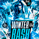 Flyer Winter Bash Party - GraphicRiver Item for Sale
