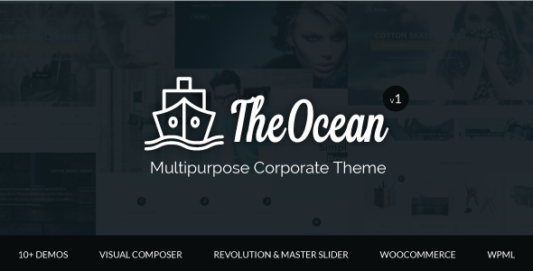 The Ocean – Multipurpose WordPress Theme