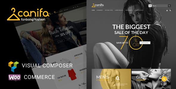 Canifa - Fashion Responsive WooCommerce Theme