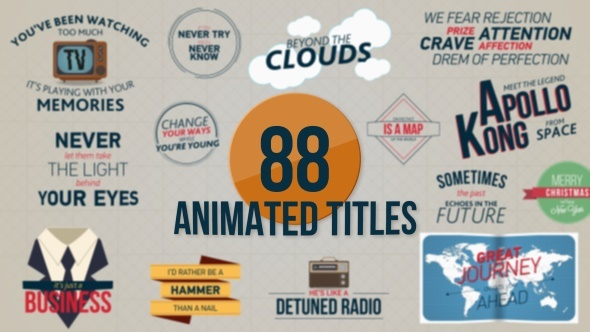 88 Animated Titles