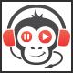 Media Monkey Logo - GraphicRiver Item for Sale