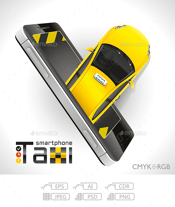 Taxi in your Smartphone - Services Commercial / Shopping