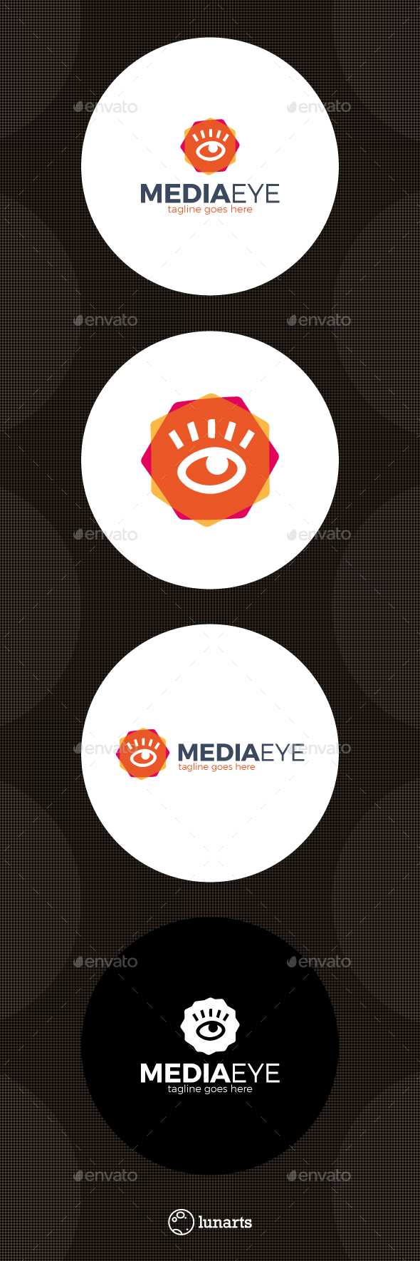 Media Eye Logo - Symbols Logo Templates