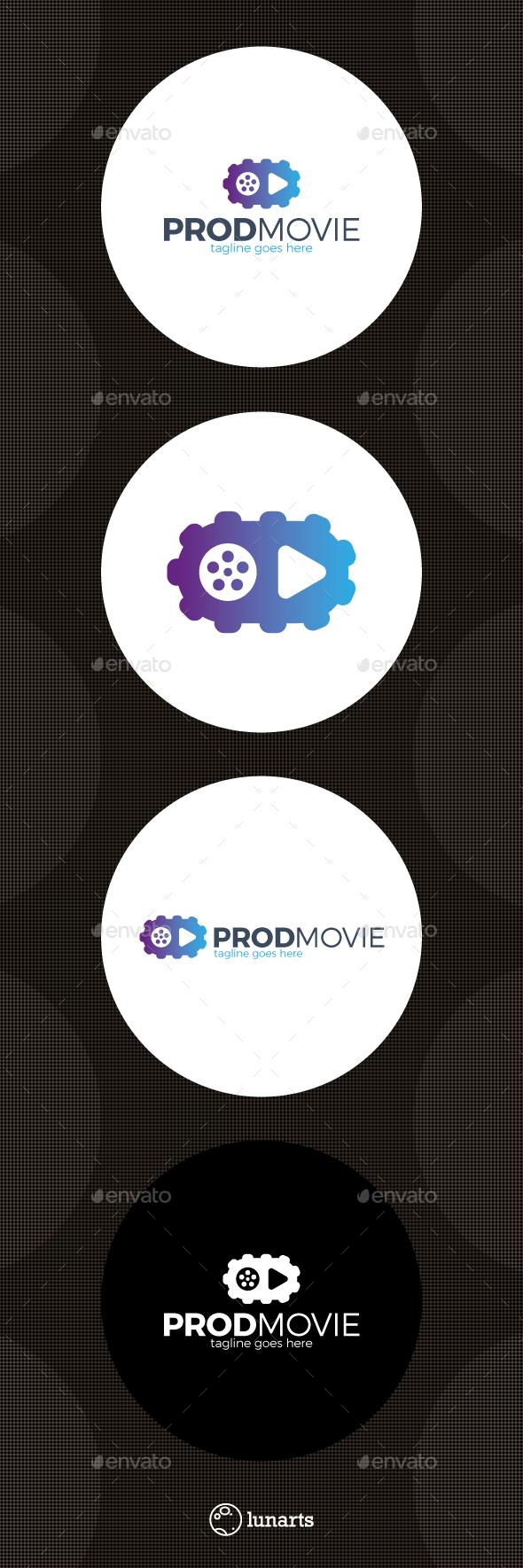 Movie Production Logo - Symbols Logo Templates