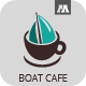 Boat Cafe Logo - GraphicRiver Item for Sale