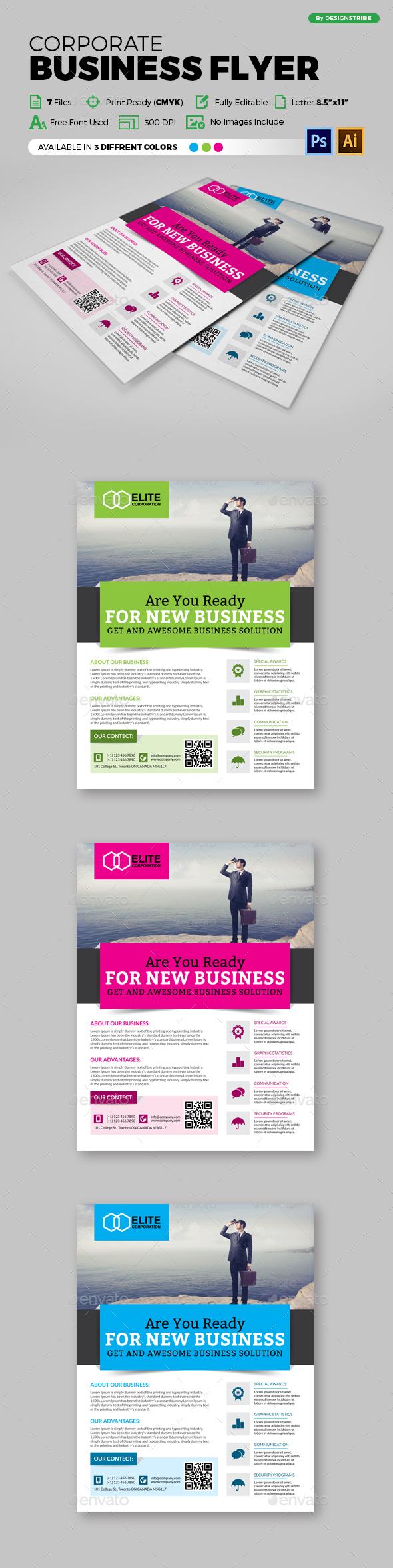 Multipurpose Business Flyer 95 - Corporate Flyers