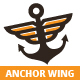 Anchor Wing Logo - GraphicRiver Item for Sale