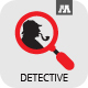 Detective Logo - GraphicRiver Item for Sale