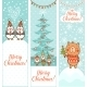 Set of Vertical Christmas Banners - GraphicRiver Item for Sale