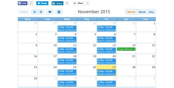 CalendARI – Joomla! events manager