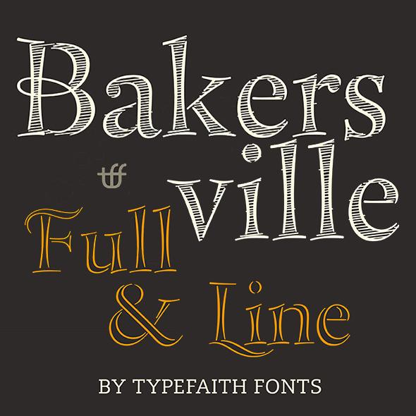 Bakersville - Serif Fonts