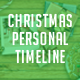 Personal Christmas Timeline