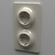 Double Schuko Socket