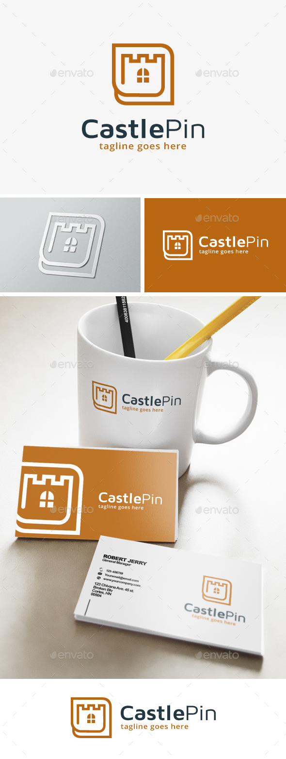 Castle Point Logo - Buildings Logo Templates