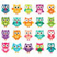 Cartoon Vector Owls Collection - GraphicRiver Item for Sale