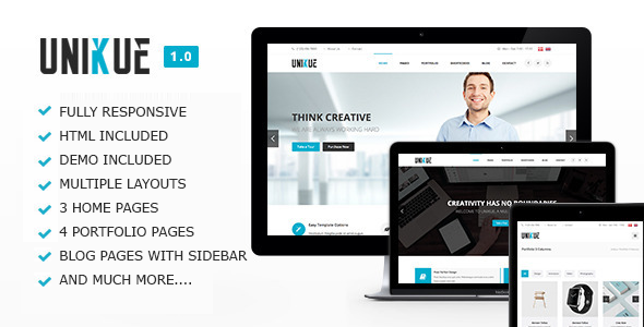 Unikue - Multi-Purpose Drupal Theme - Business Corporate