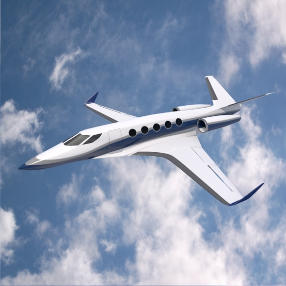 Space Eagle concept jet - 3DOcean Item for Sale