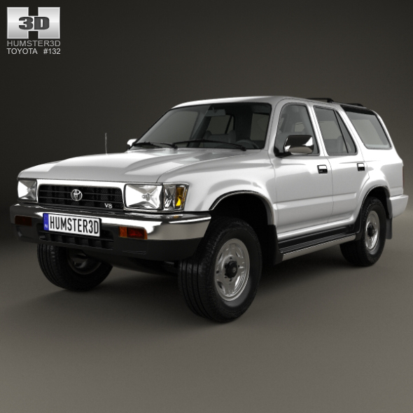 toyota 4runner 1992 by humster3d 3docean. Black Bedroom Furniture Sets. Home Design Ideas