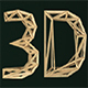 Wood Frame Letter 3D - GraphicRiver Item for Sale