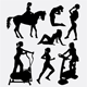 People Pose and Training Silhouettes - GraphicRiver Item for Sale
