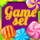Candy Game Set for match3 + UI - GraphicRiver Item for Sale