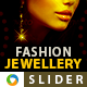 Fashion Jewellery Slider - GraphicRiver Item for Sale