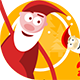 Funny Santa Animation - VideoHive Item for Sale