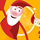 Funny Santa Animation - VideoHive Item for Sale