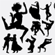 People Exercise Silhouettes - GraphicRiver Item for Sale