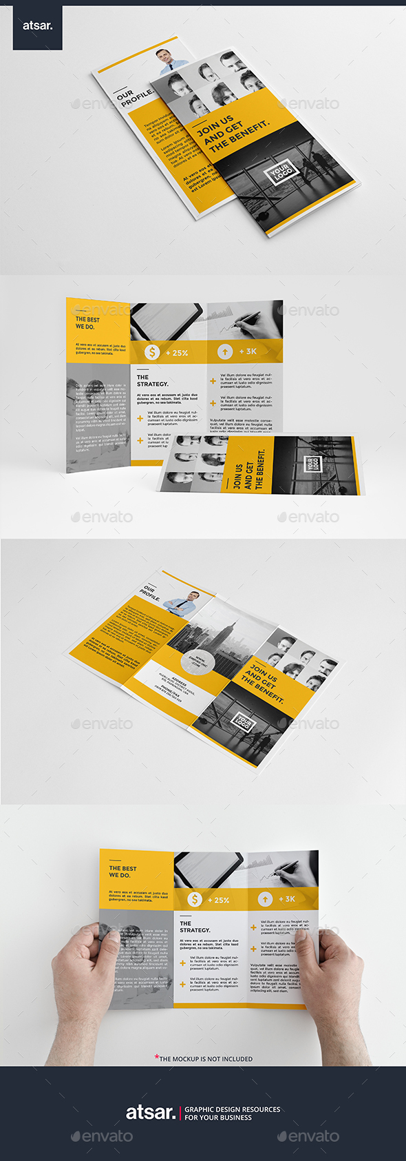 Simple Corporate Trifold - Corporate Brochures