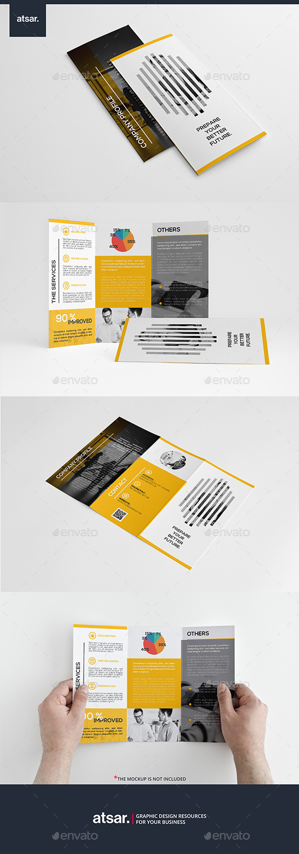 Creative Business Trifold - Corporate Brochures