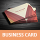 Creative Business Card 01 - GraphicRiver Item for Sale