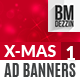 Christmas Sale Web Ad Banners - GraphicRiver Item for Sale