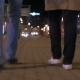 Couple Walking In The Evening City - VideoHive Item for Sale