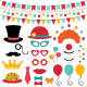 Circus Photo Booth Props and Decoration - GraphicRiver Item for Sale