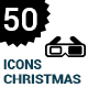 50 Christmas Icons - GraphicRiver Item for Sale