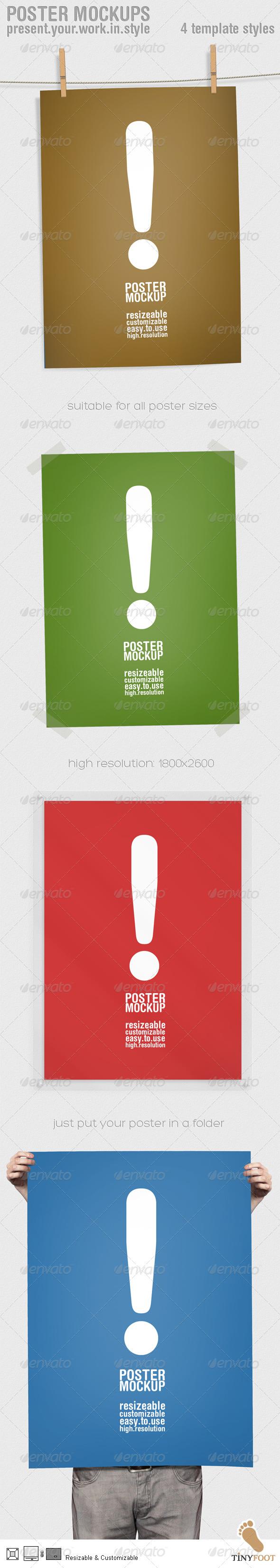 Poster Mockups - Graphics