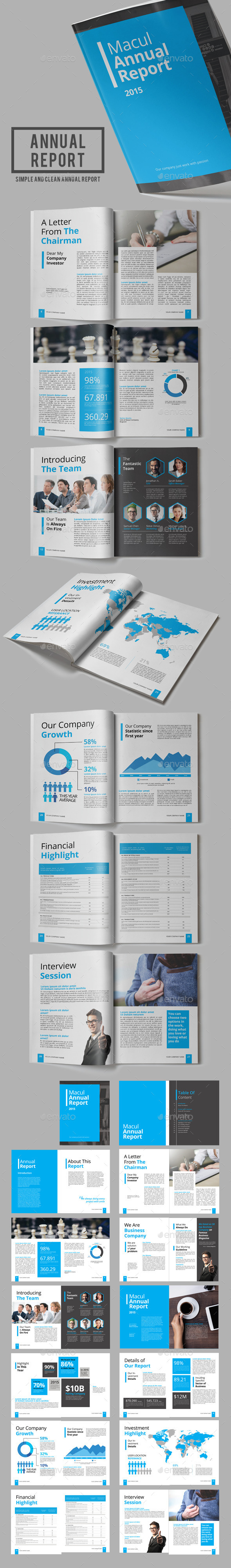 Macul Annual Report - Corporate Brochures
