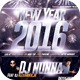 Roof Top New Year Party Flyer Template - GraphicRiver Item for Sale