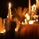 Halloween Holiday Table With Candles  - VideoHive Item for Sale