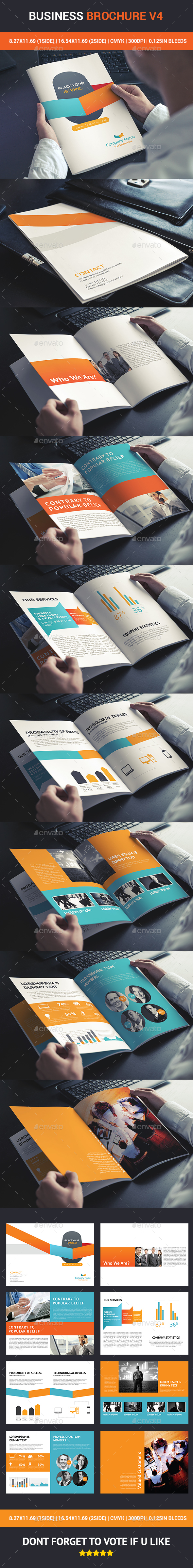 Business Brochure v4 - Brochures Print Templates