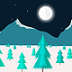 Frozen Night 2 Game Background - GraphicRiver Item for Sale