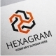 Hexagram Logo - GraphicRiver Item for Sale