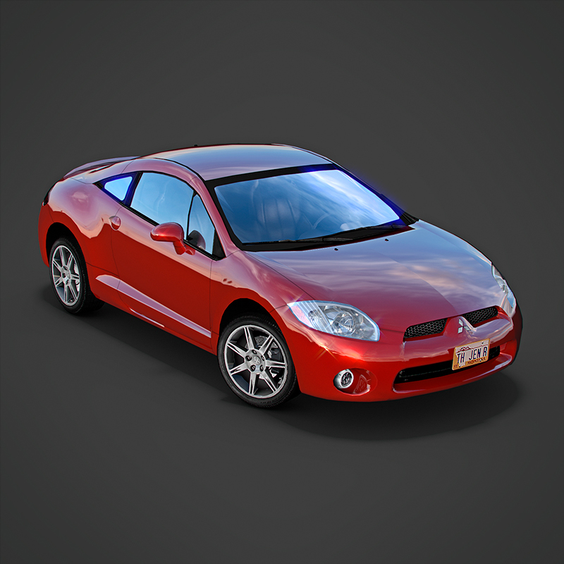 mitsubishi eclipse gt 2006 by gexogen 3docean. Black Bedroom Furniture Sets. Home Design Ideas