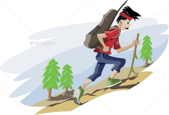 Mountain Climbing - Sports/Activity Conceptual