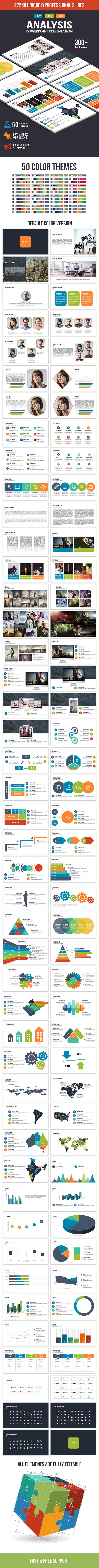 Analysis PowerPoint Template - Business PowerPoint Templates