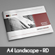 Annual Report A4 Landscape - GraphicRiver Item for Sale
