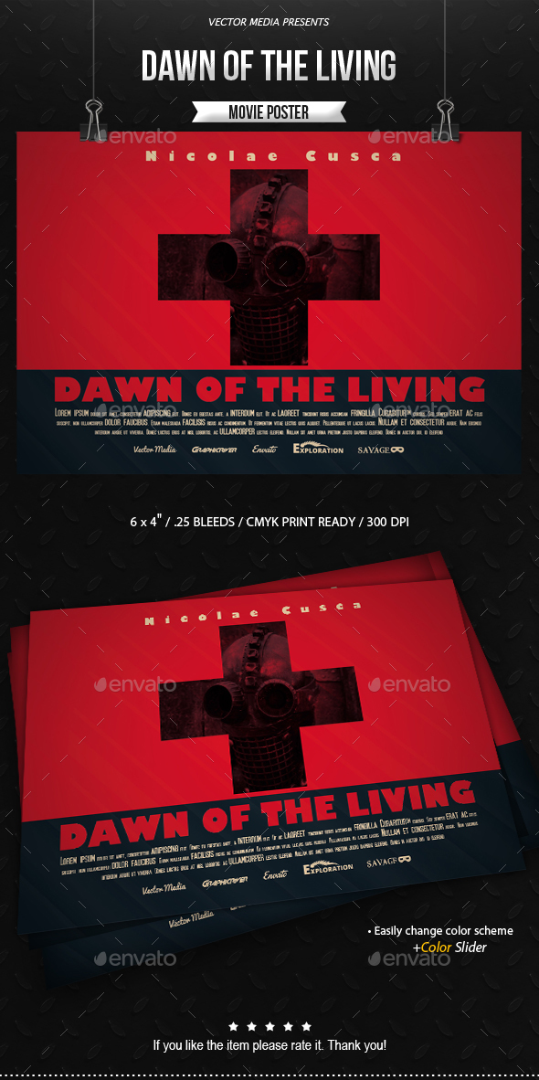 Dawn of The Living - Movie Poster - Miscellaneous Events