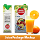 Juice Package Mockup - GraphicRiver Item for Sale